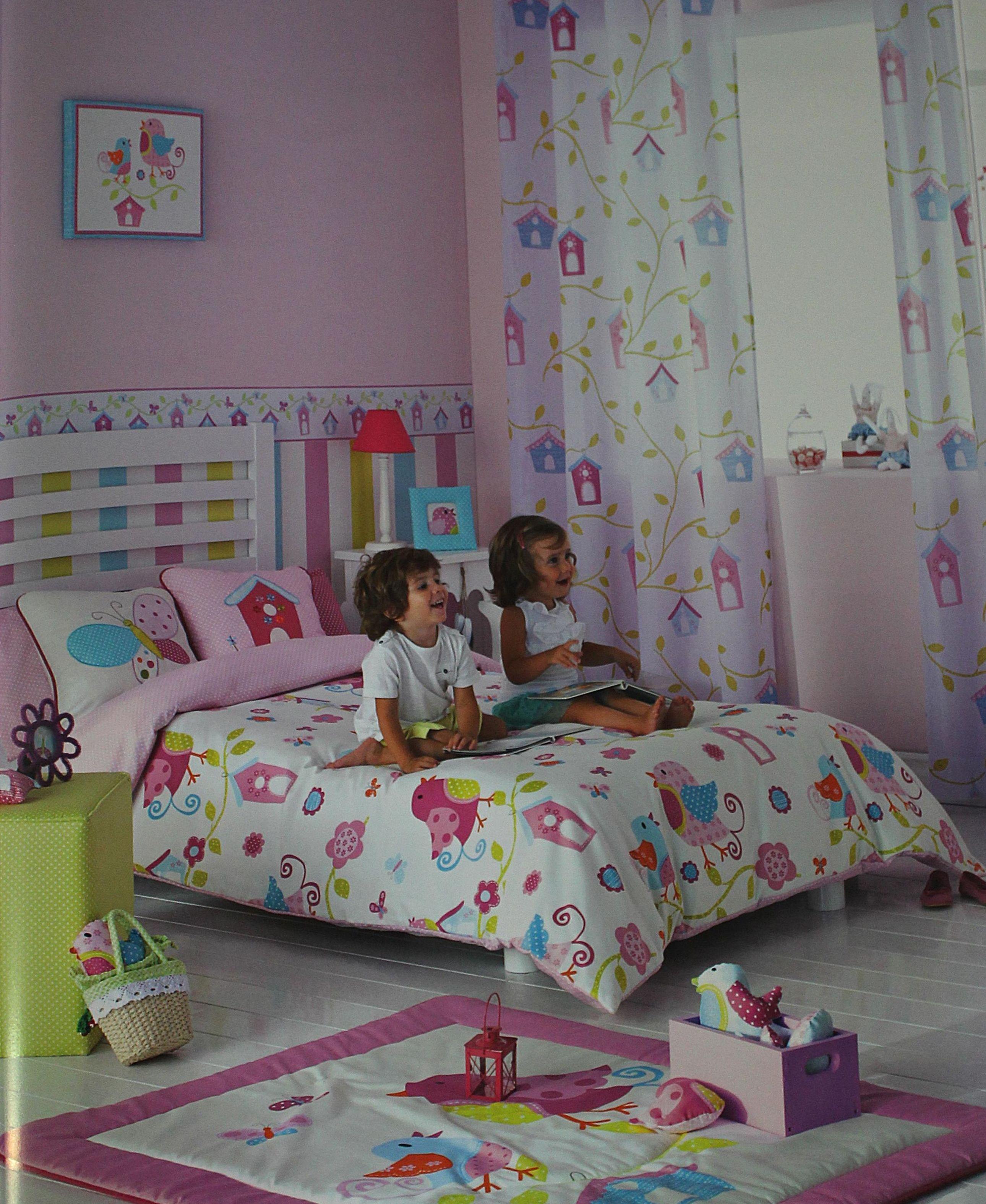 Dormitorios infantiles. Confección de cortinas Tres Cantos.