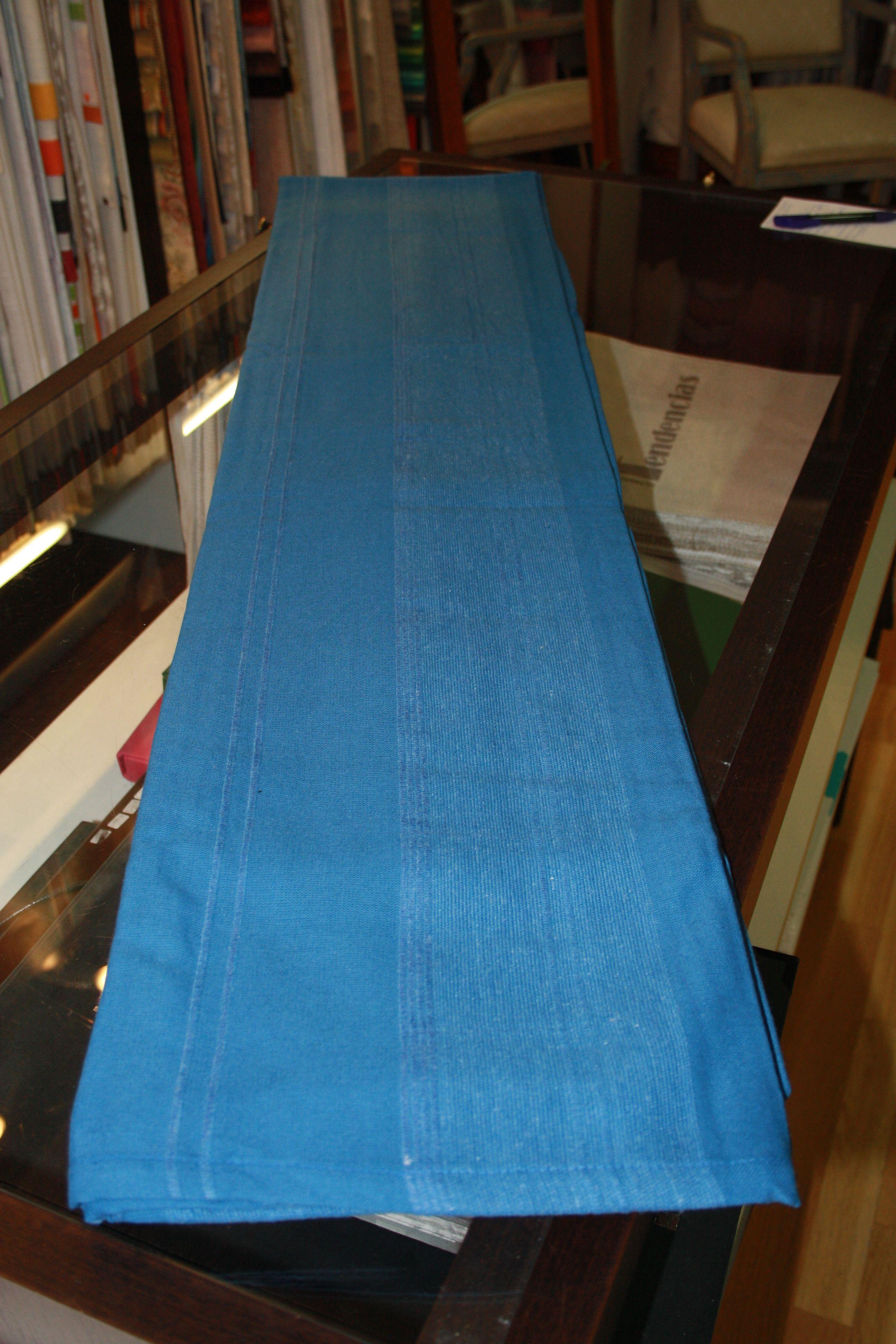 Natura. Colcha multiusos azul. 100% algodón 170*250: Catálogo de La Cibeles