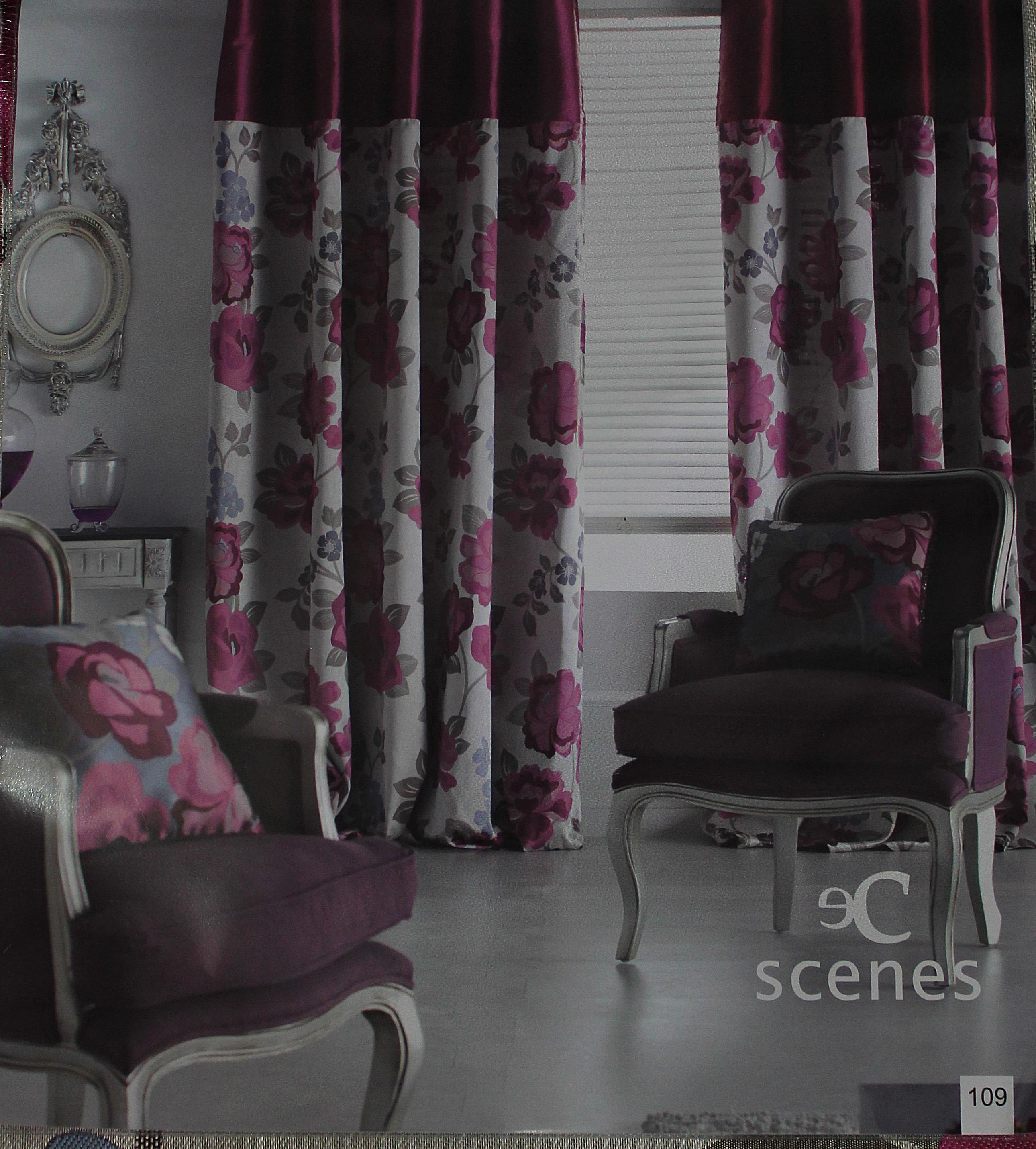 Estampados para sofás, salas de estar, dormitorios). Confección de cortinas Tres Cantos.