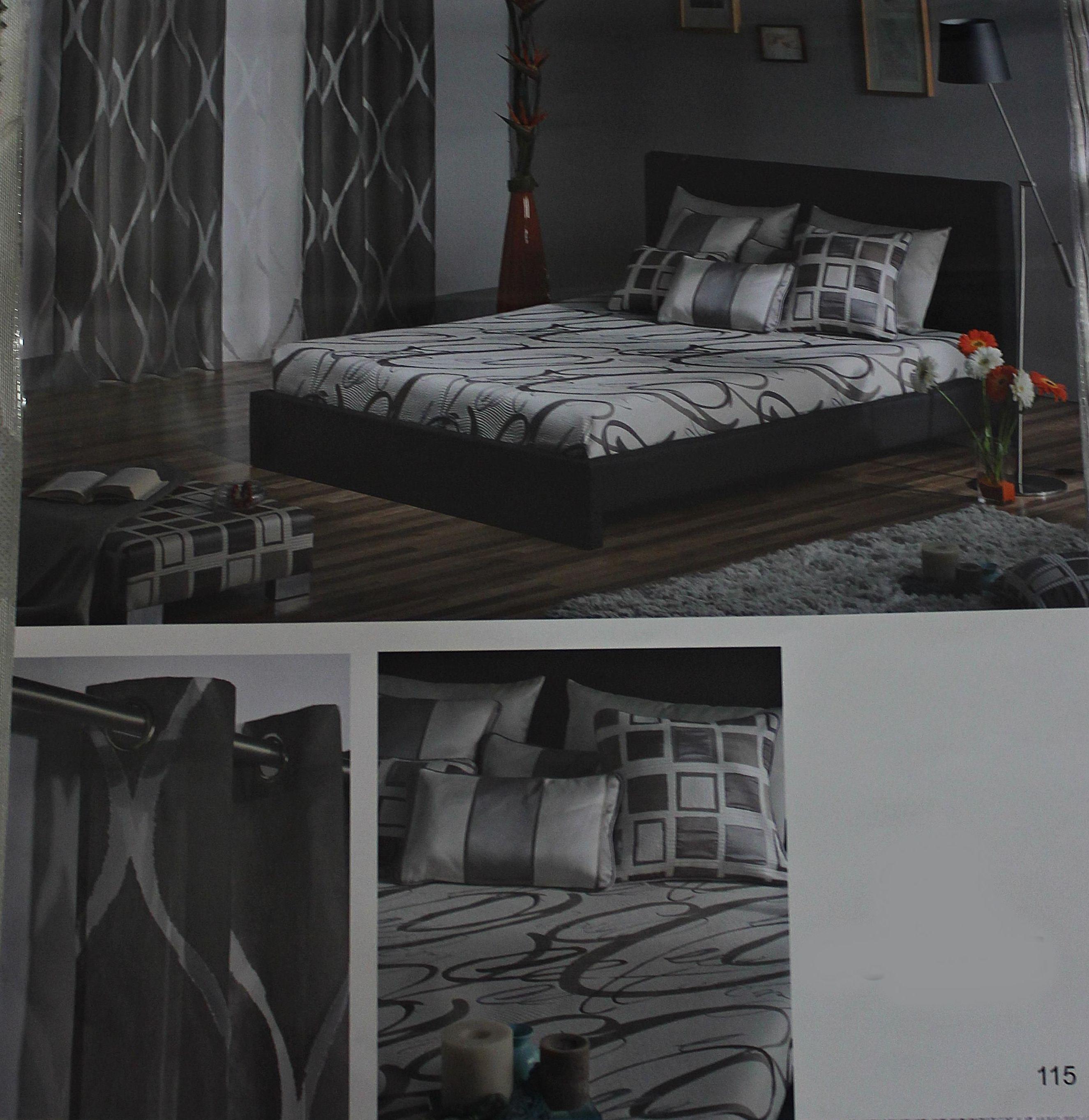 Estampados dormitorios. Confección de cortinas Tres Cantos.