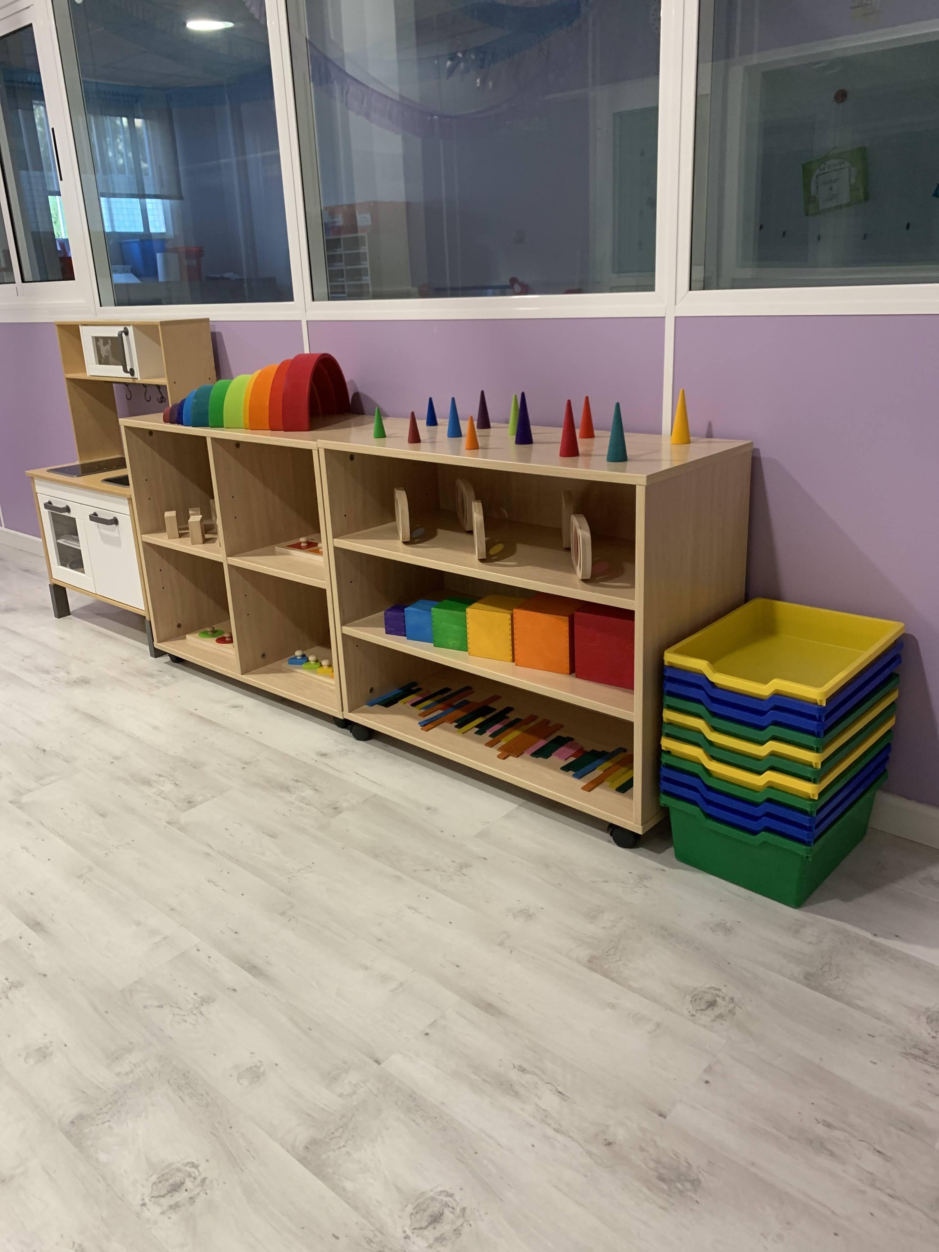 Aula de 1-2 años , aula primeros pasos
