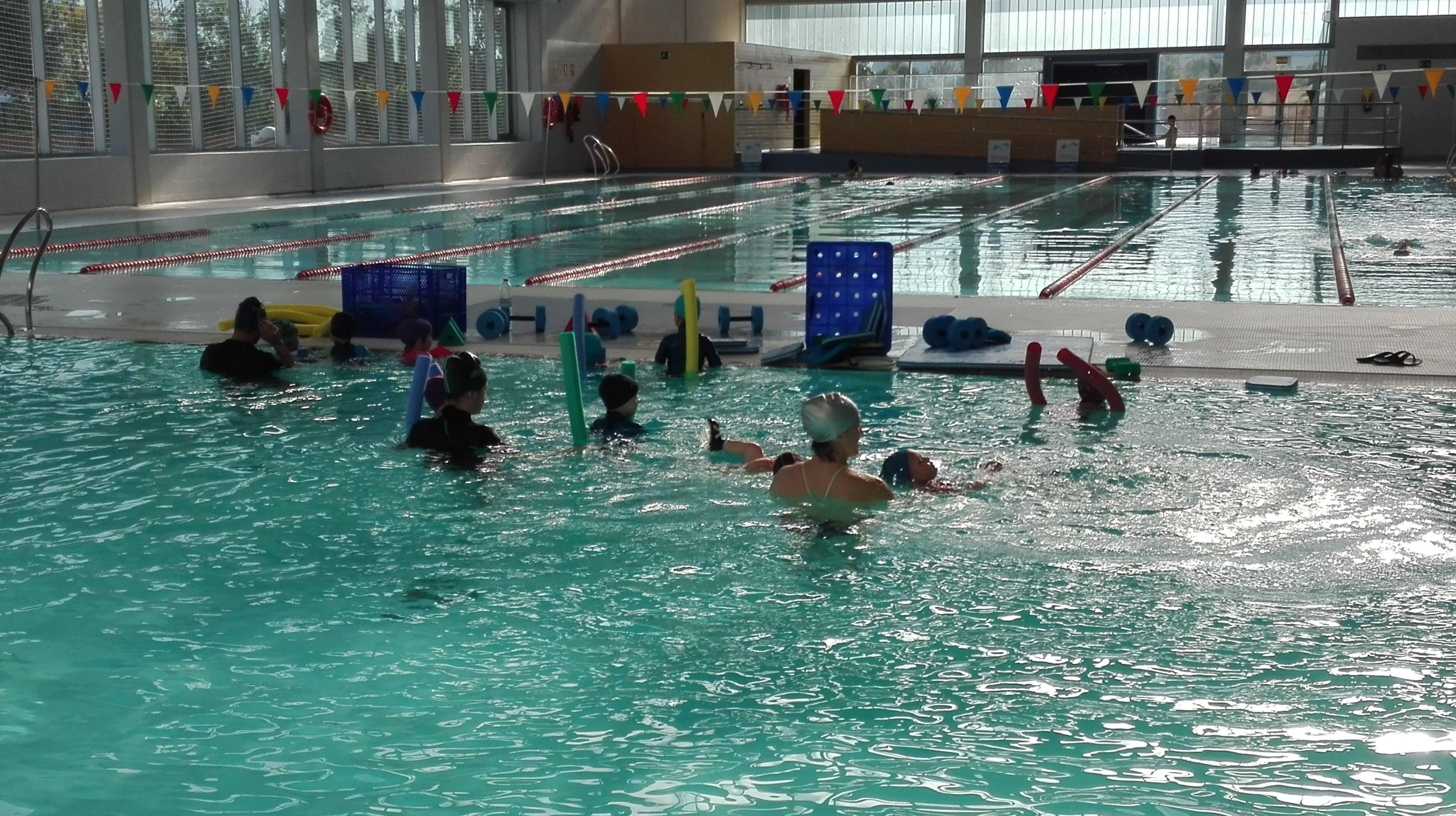 Curso de natación