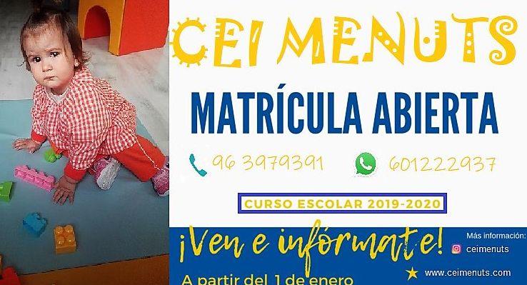 Foto 1 de Guarderías y Escuelas infantiles en  | Escuela Infantil Menuts