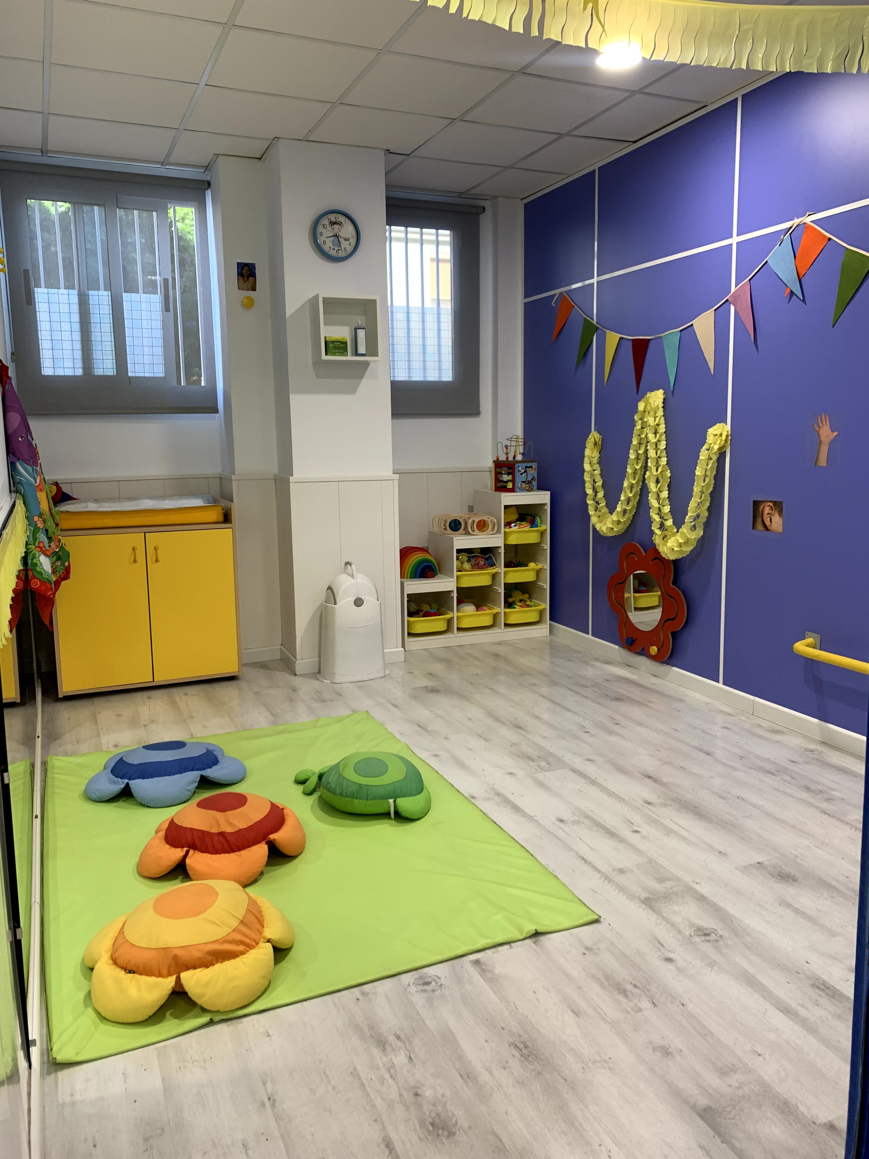 Aula de bebés, aula nido
