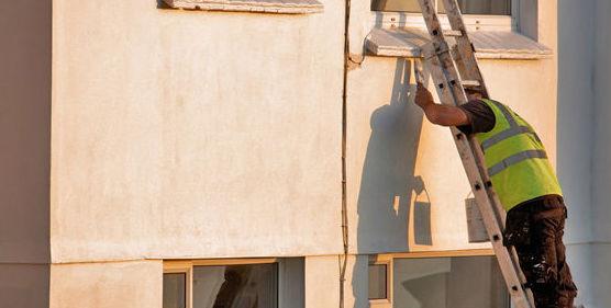 Mantenimiento de fachadas: Servicios de Gregorio Carcas Aznar