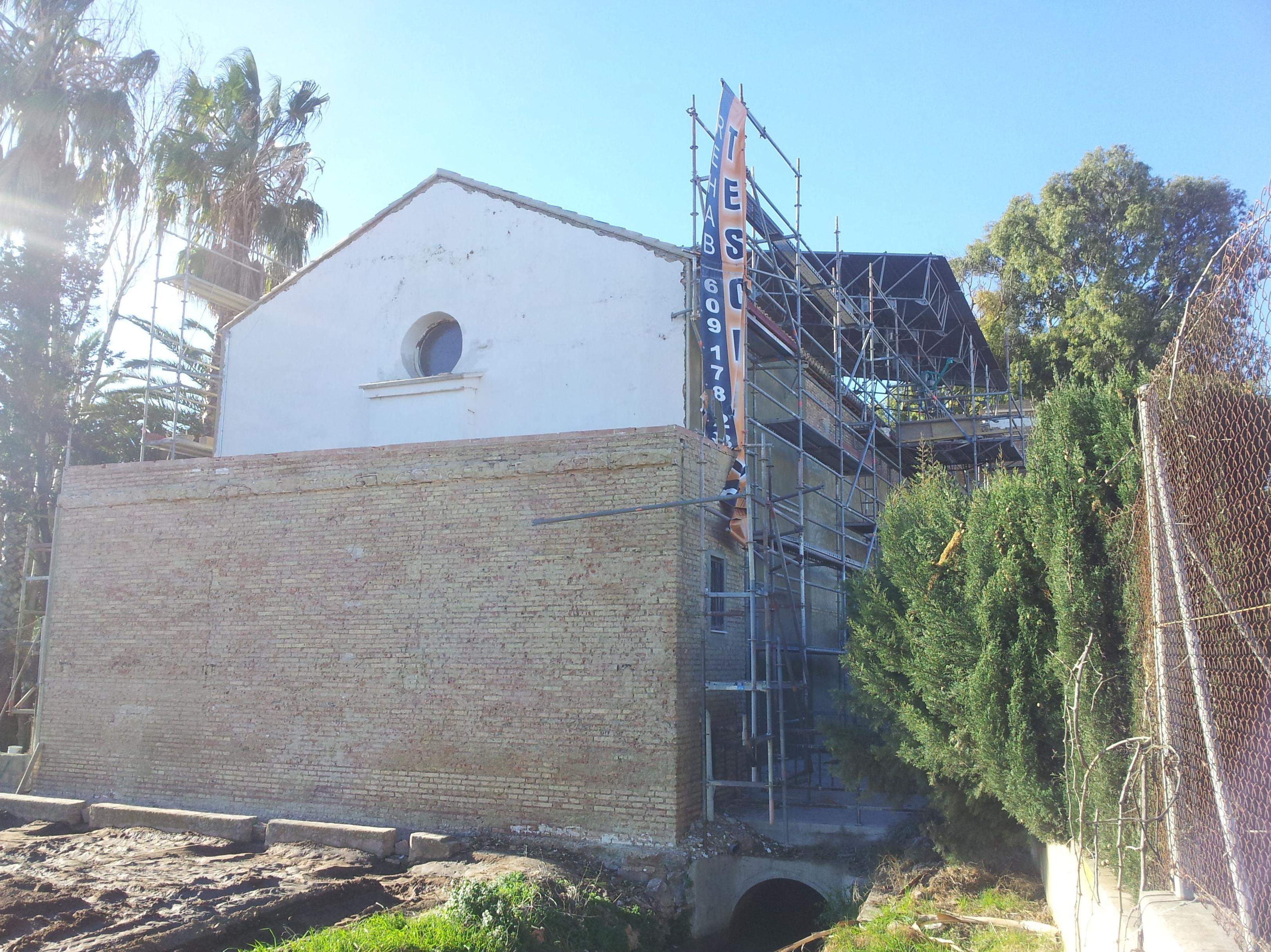 Restauración arquitectónica: Servicios de Construcciones Teschez, S.L.