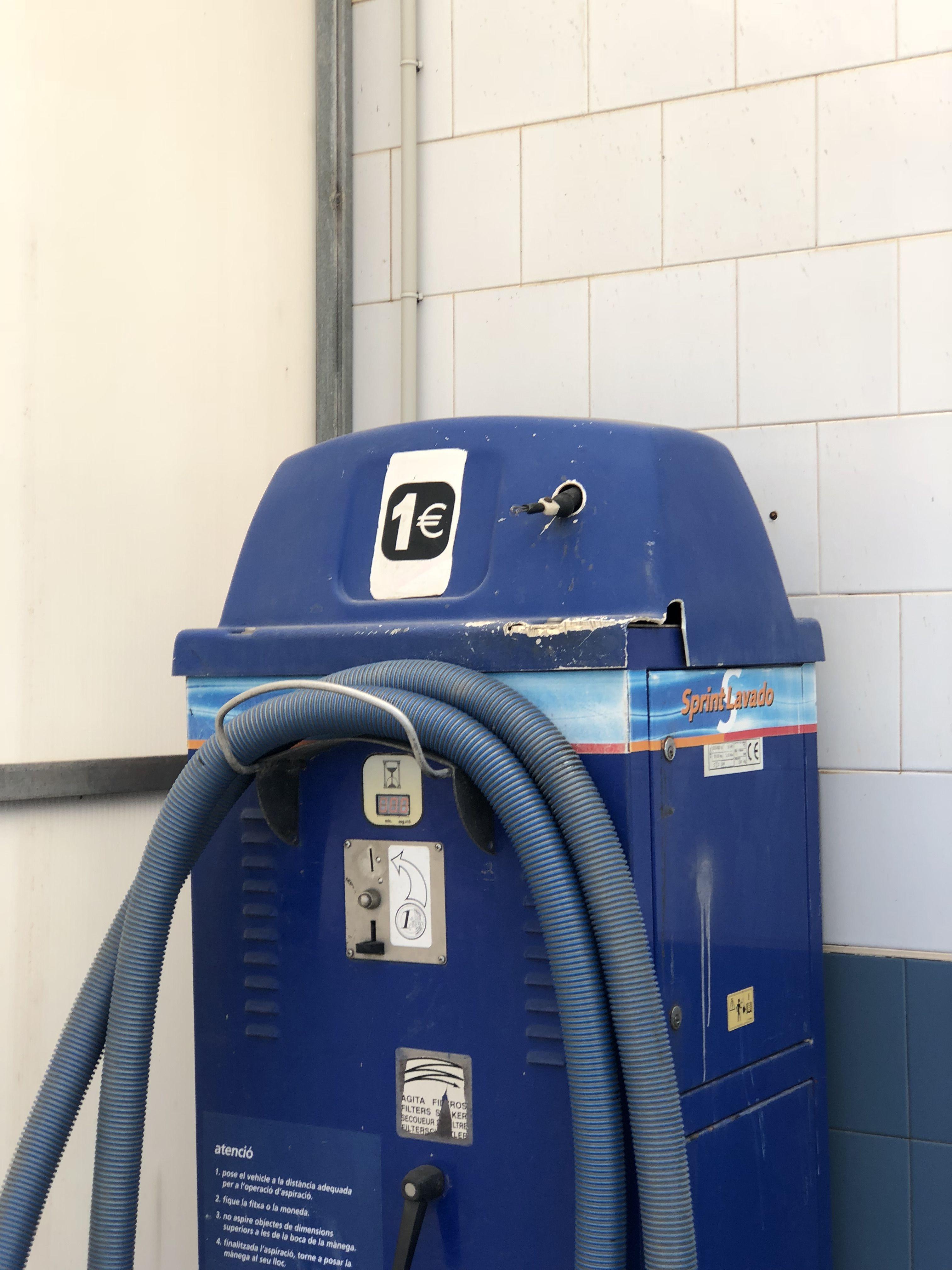 Instalaciones para el lavado de vehículos