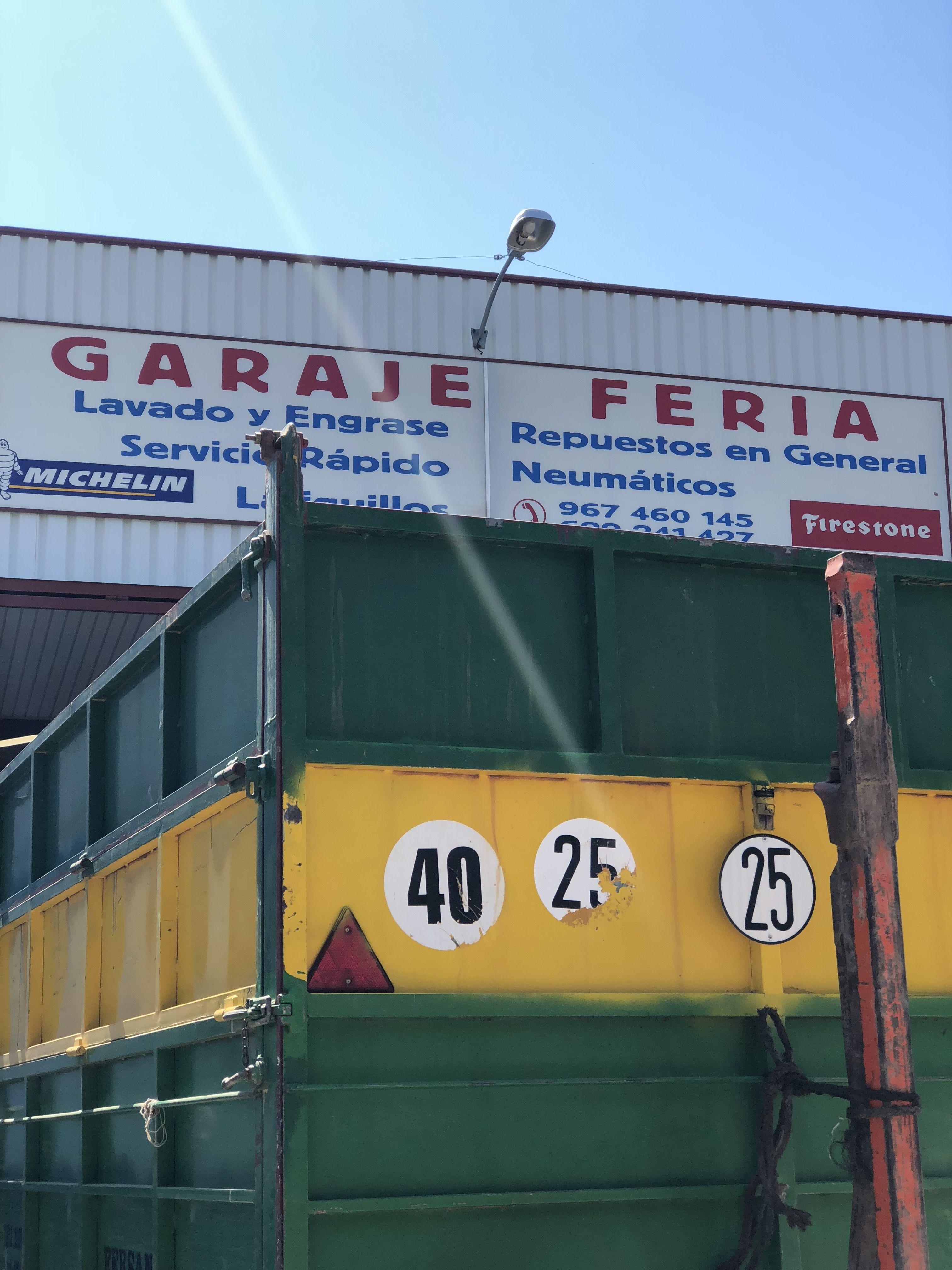 Taller con repuestos y recambios en general en Albacete