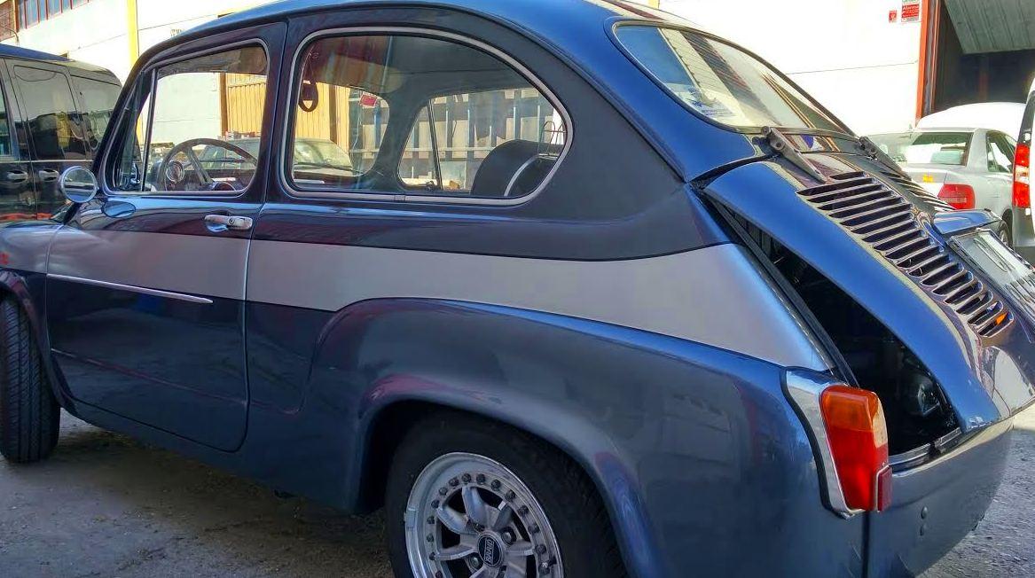 Especialistas en Chapa y Pintura ABARTH 1000TC SEAT 600 VALDEMORO