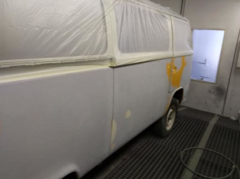 VW T2 CAMBIO COLOR.