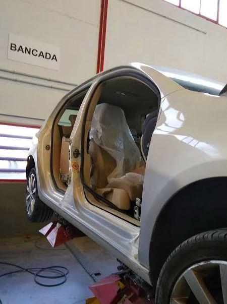 REPOSICIÓN DE ESTRIBO EN BANCADA.