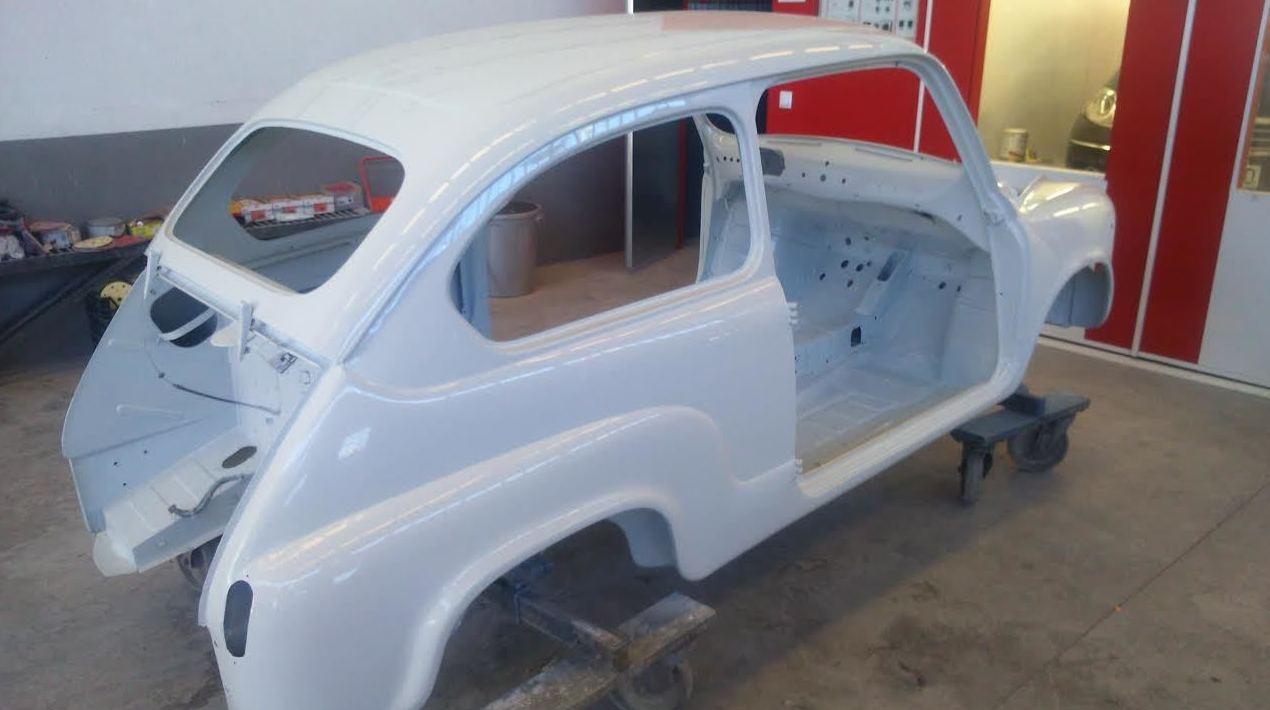 Trabajos de pintura de coches