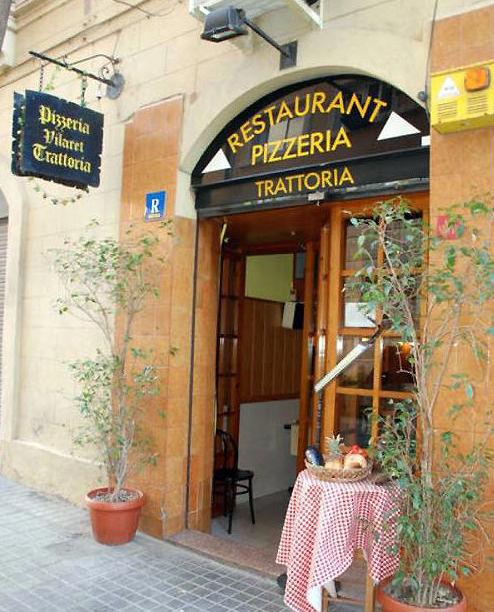 Pizzeria Trattoria Vilaret, Barcelona