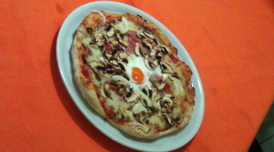 Pizzería italiana en la zona de la Sagrada Familia