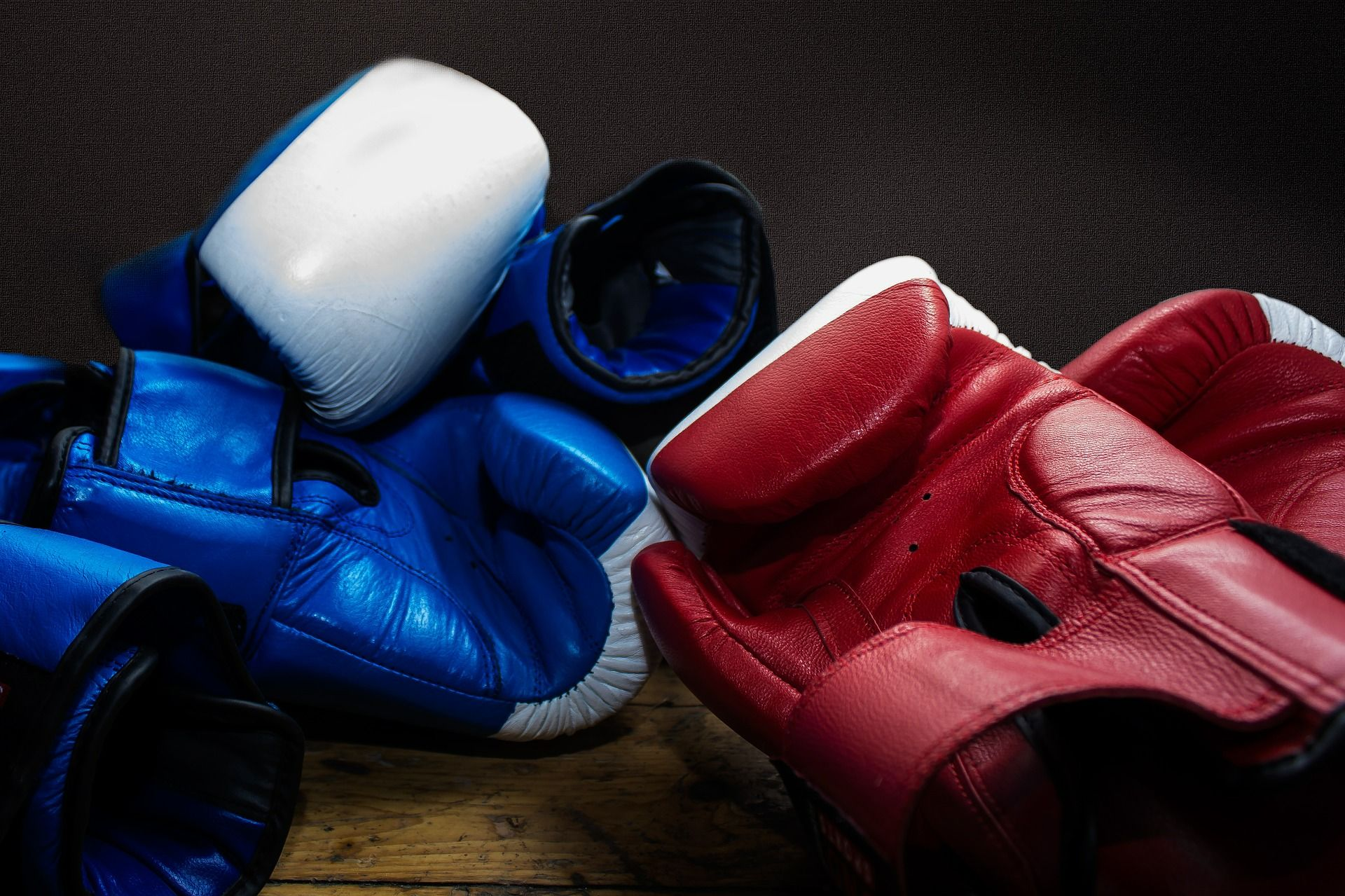 Clases de boxeo en el Bario del Pilar