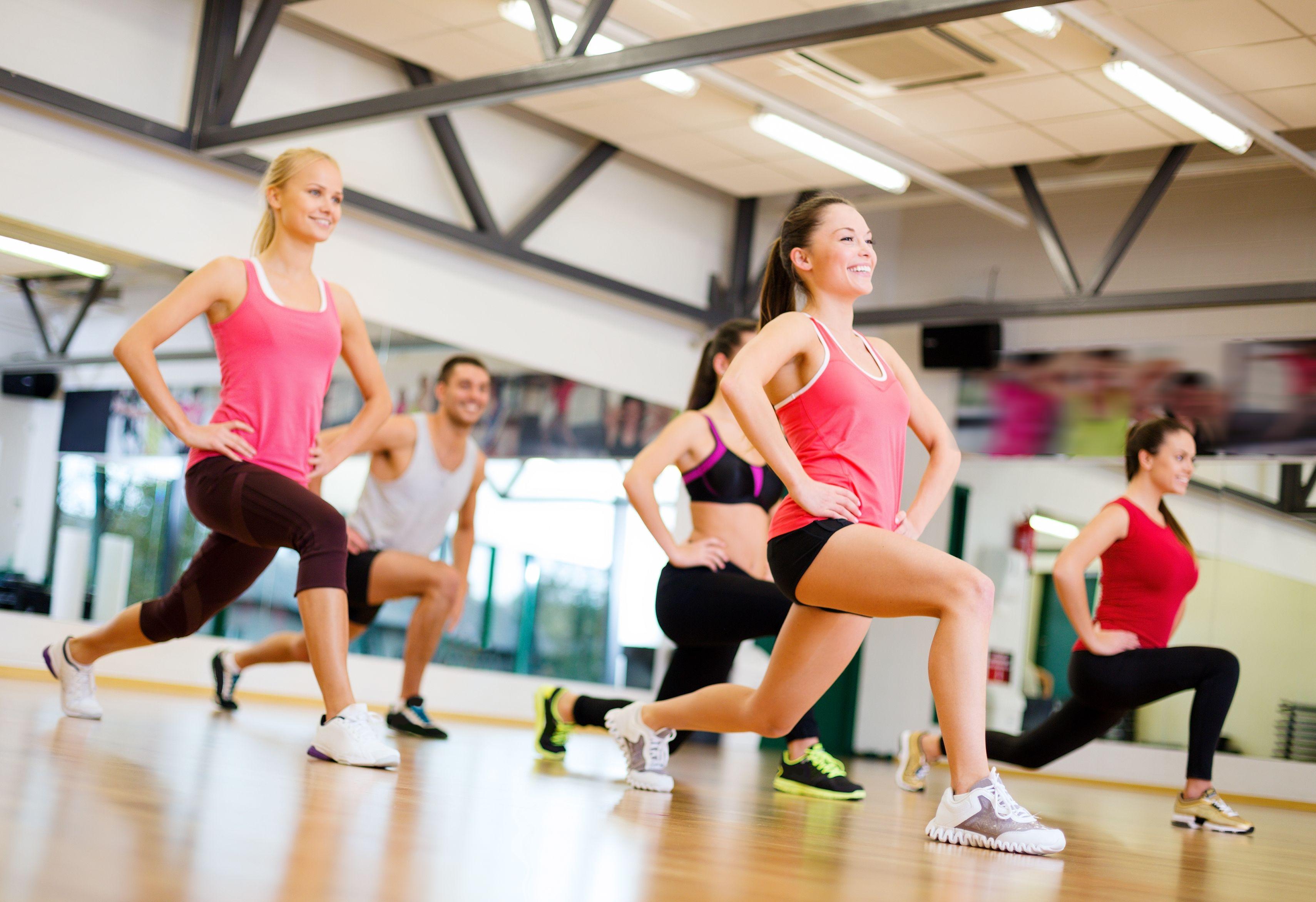 Fitness y aeróbic en el Barrio del Pilar, Madrid