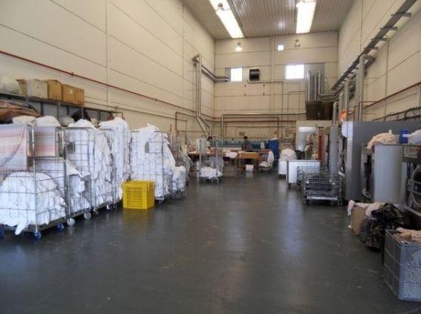 Lavandería industrial en la zona sur de Madrid