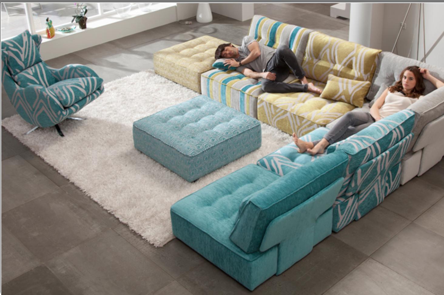 sofa modular tapicerias combinadas cat logo de muebles