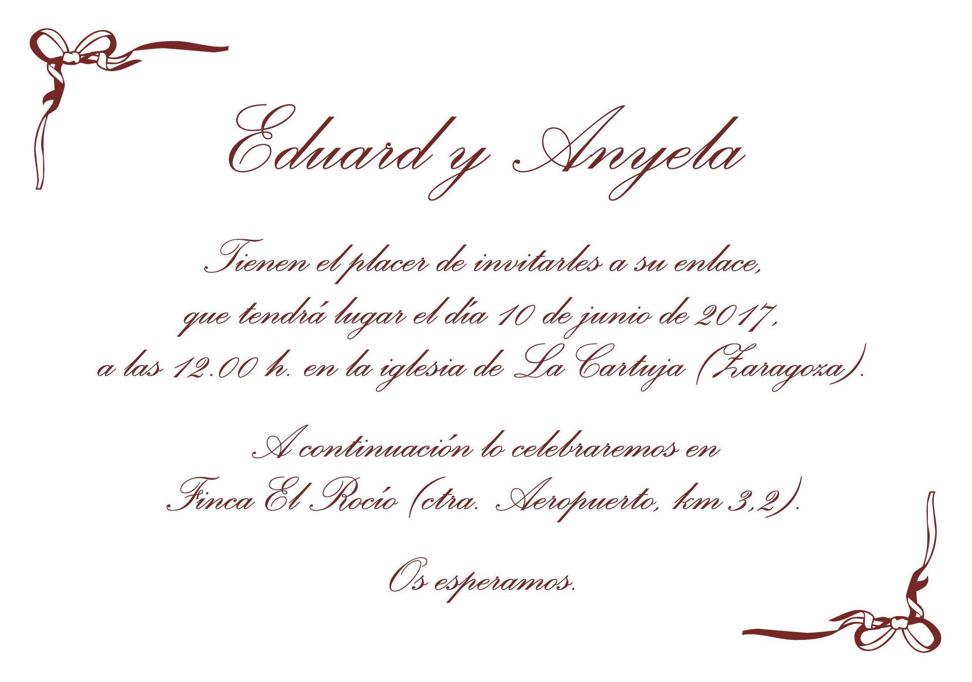 Impresión digital de invitaciones de boda en Zaragoza