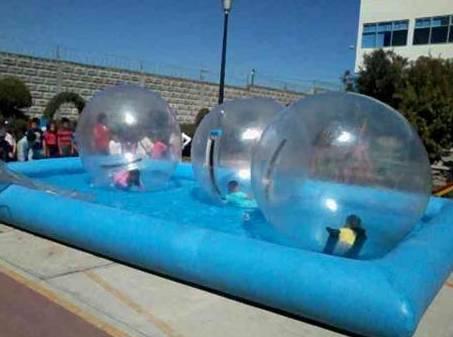 Bolas acuáticas en Toledo