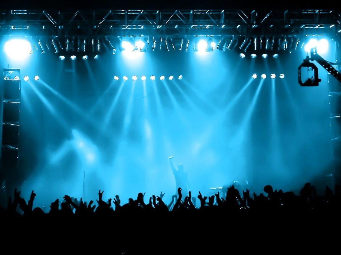 Alquiler de luz, sonido y escenarios para conciertos