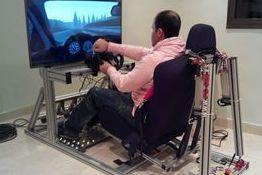 Simulador de carreras con movimiento