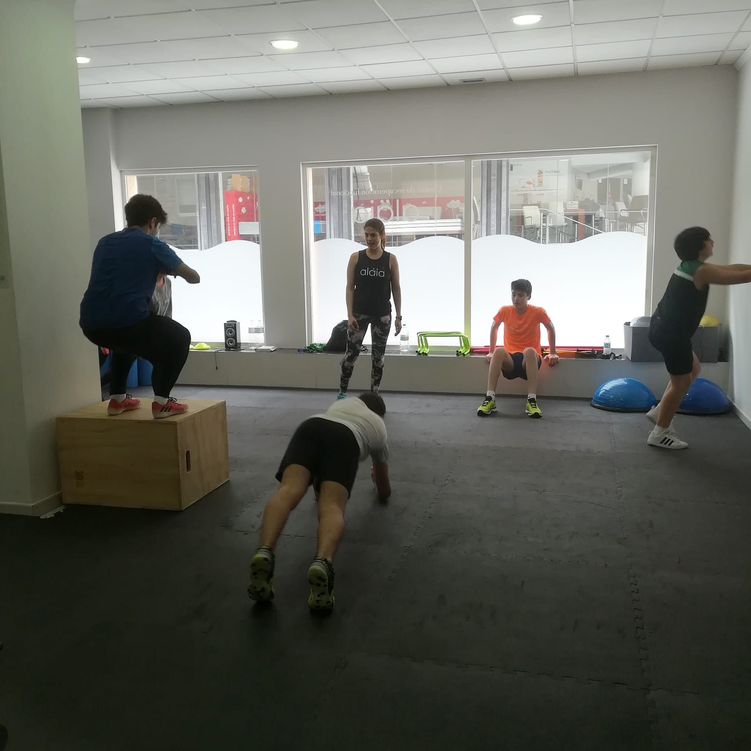 Nuestro centro está preparado para el fitness