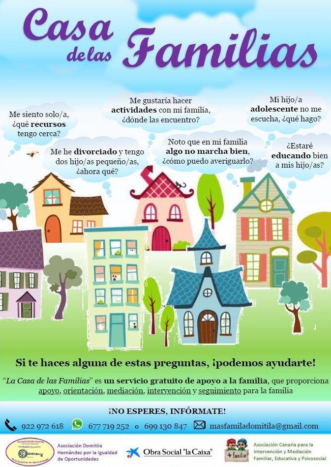 Casa de las Familias: Proyectos y Servicios de Asociación Domitila