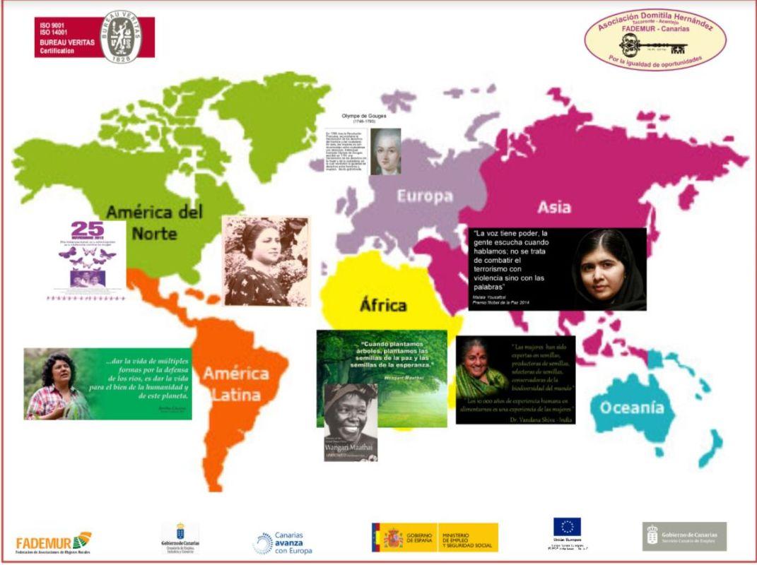 Foto 21 de Asociación sin ánimo de lucro especializada en la promoción de Igualdad de Oportunidades en Santa Cruz de Tenerife | Asociación Domitila