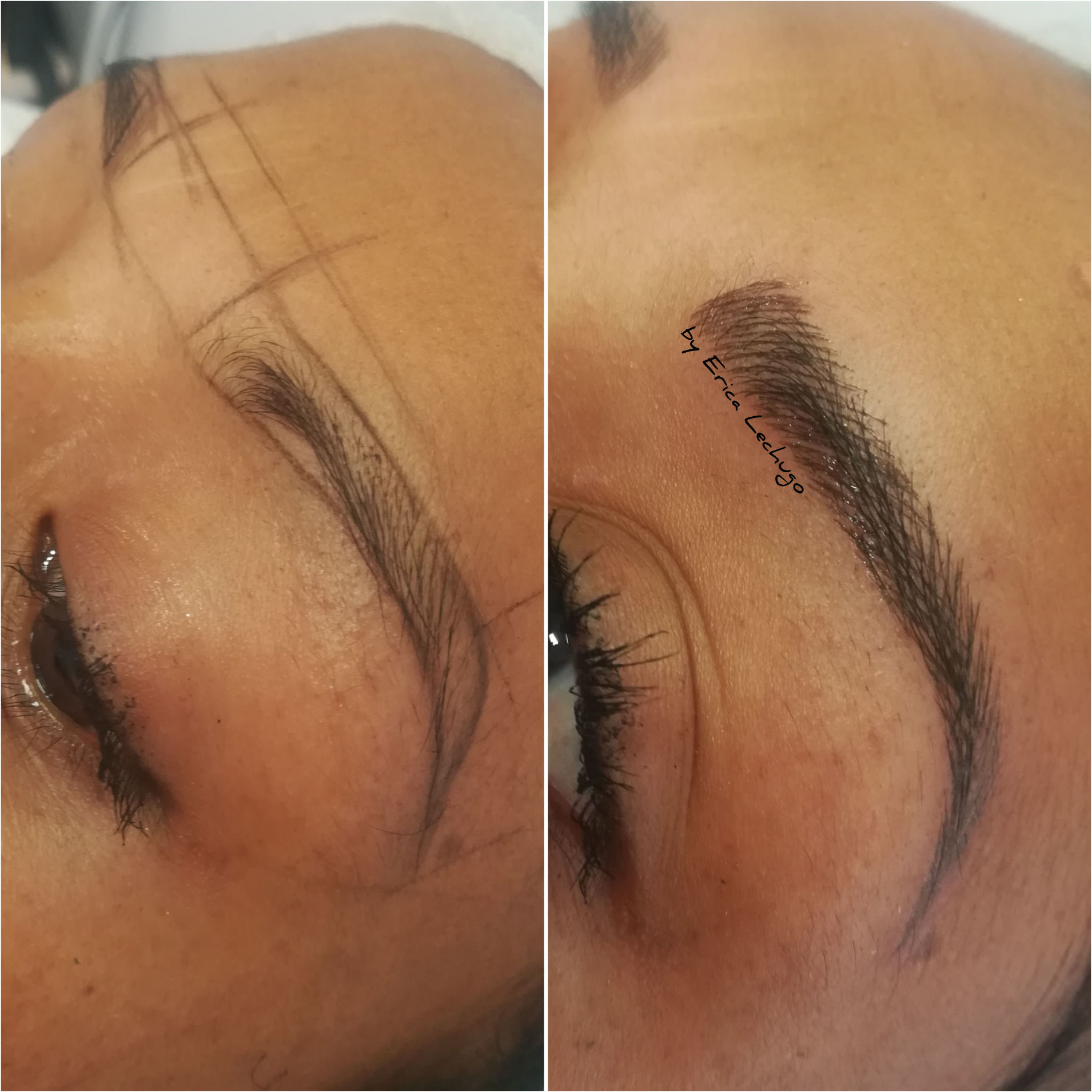 Microblading pelo a pelo