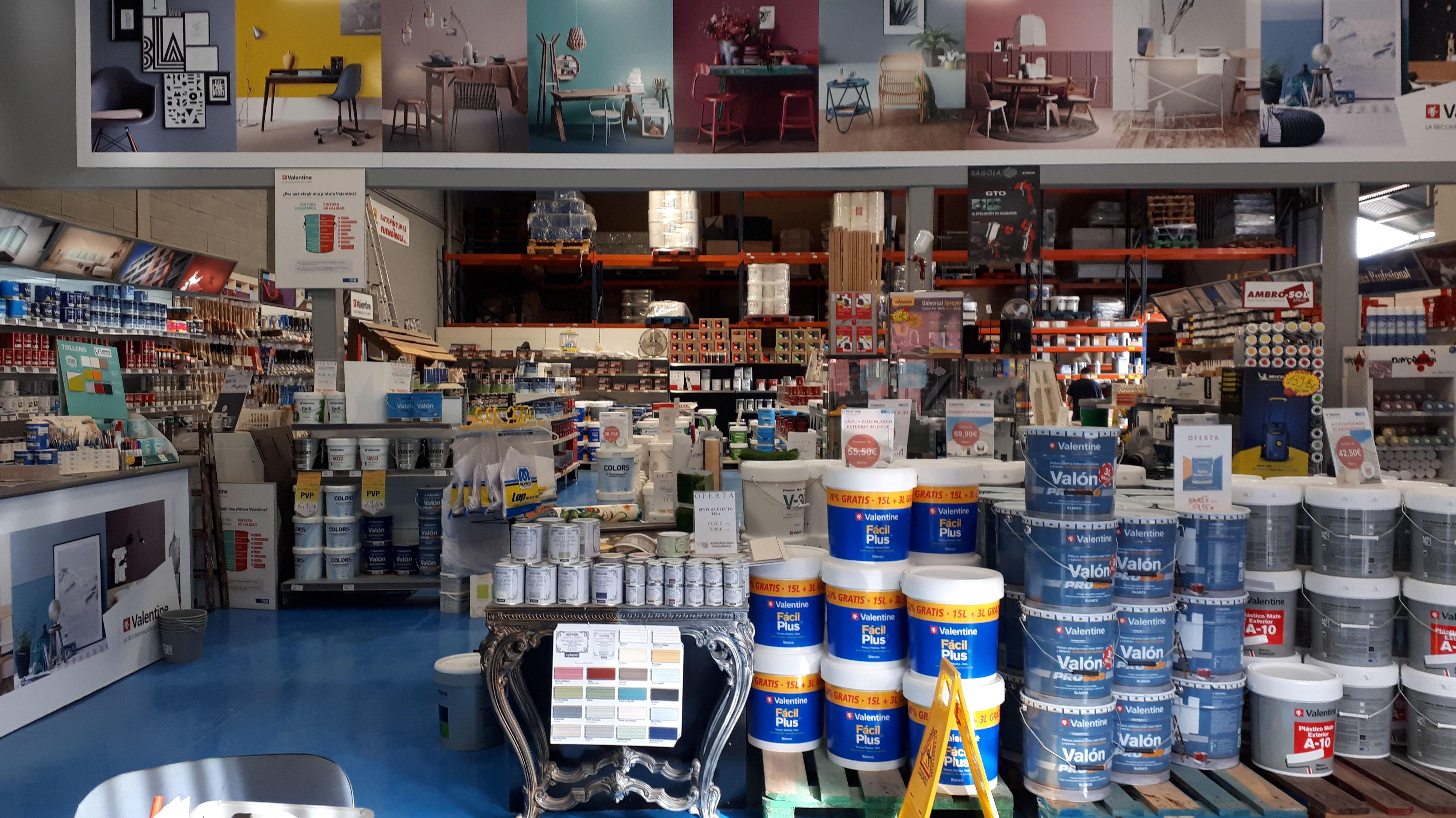 Foto 6 de Venta de material de pintura para todo tipo de superficies en  | AUTO PINTURAS FUENGIROLA
