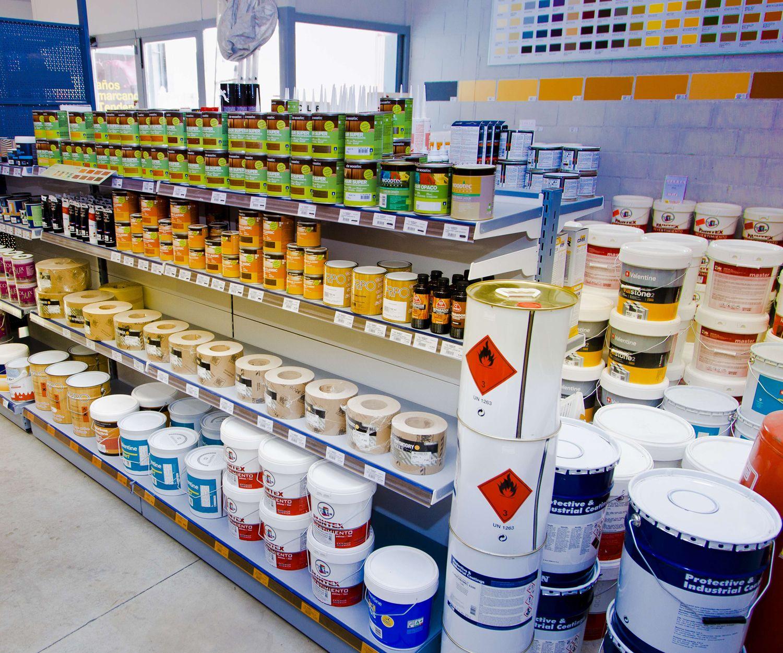 Tienda de pinturas y barnices en Fuengirola