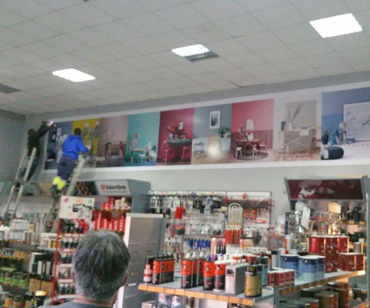 Amplia variedad de pinturas para interiores y exteriores