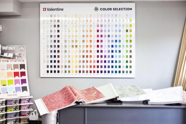 Papeles pintados con una gran variedad de diseño y colores
