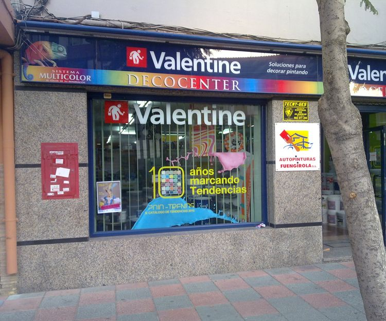 Fachada de la tienda en Fuengirola