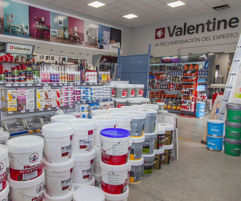 Distribución de pinturas Valentine en Marbella