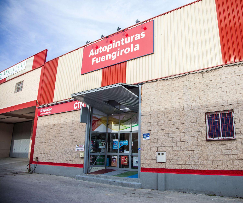 Tienda de pinturas Valentine en Fuengirola