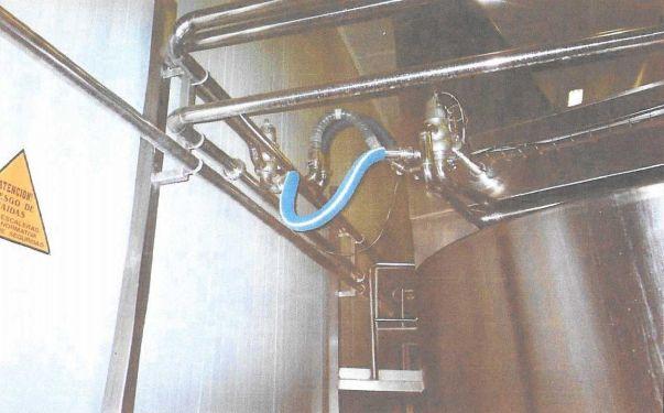 Tuberías de acero inoxidable para industria alimentaria
