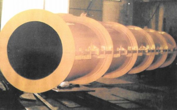 Molde para tubería de hormigón