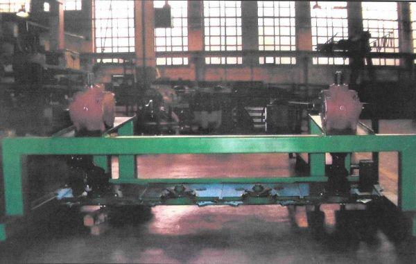 Banco de pruebas para fábrica de tractores
