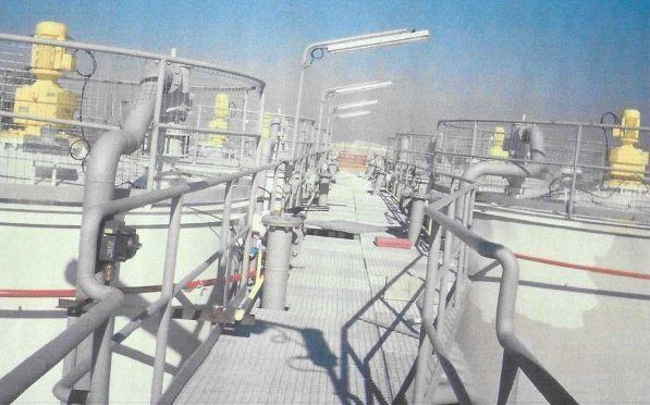 Instalación de tuberías contra incendios
