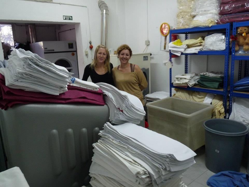 Servicio de limpieza de toallas en Marbella