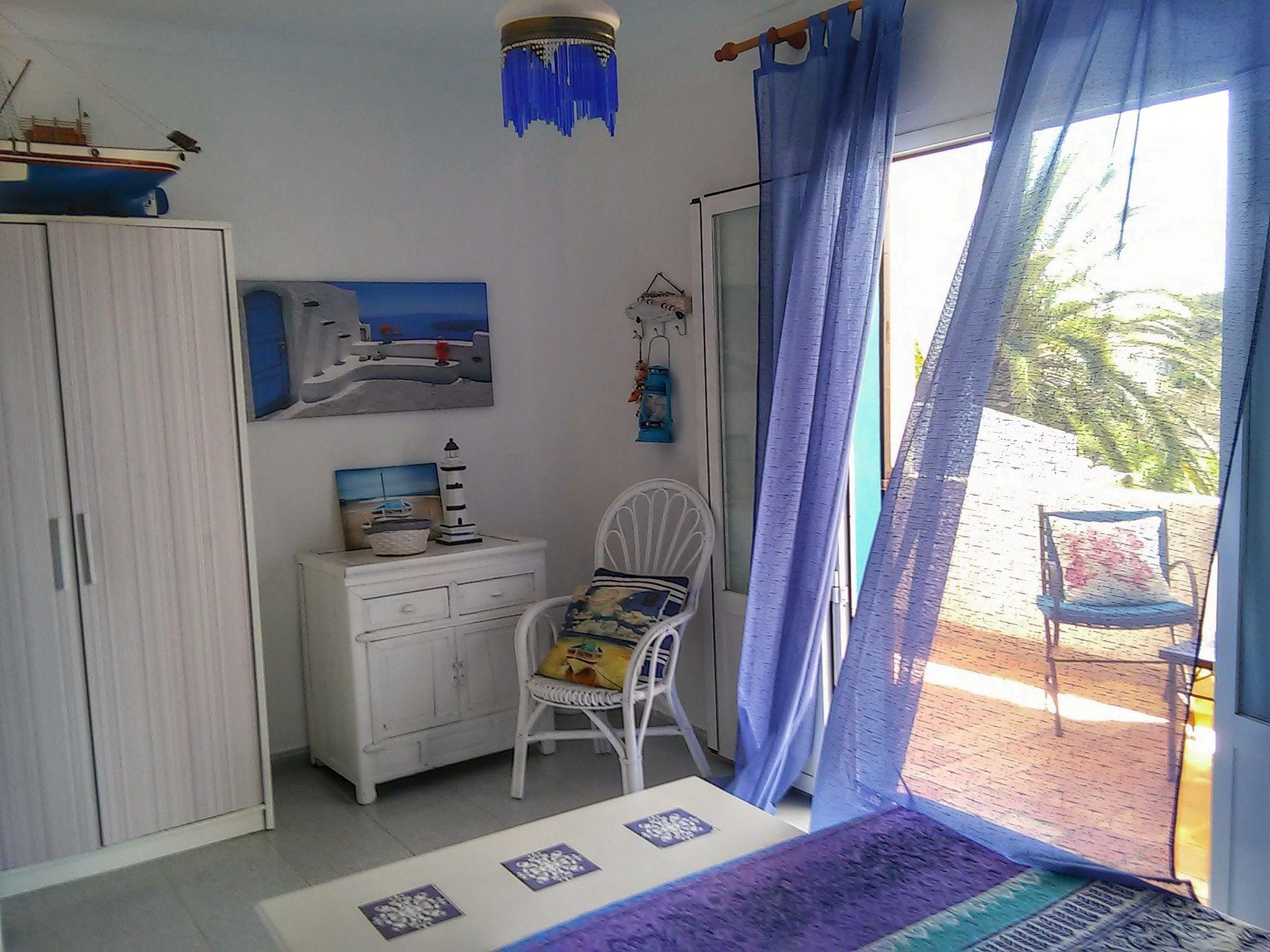 Dormitorio cama doble Villa I