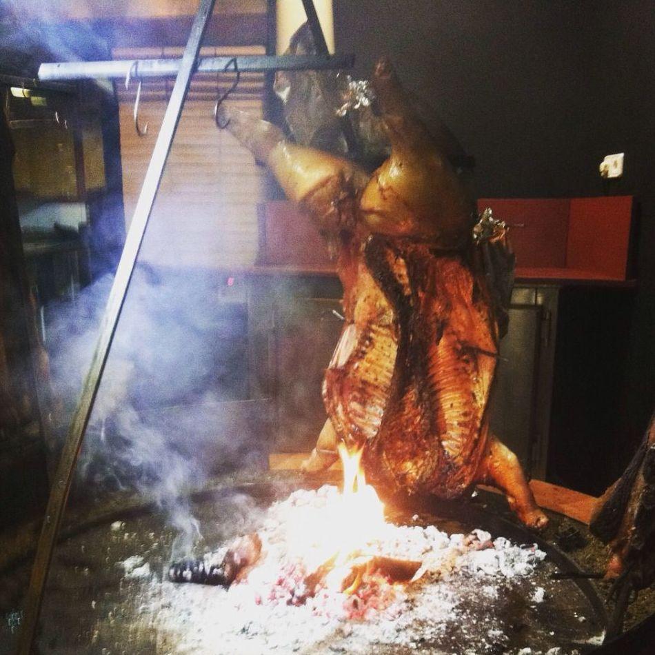 Carnes a la brasa al estilo argentino