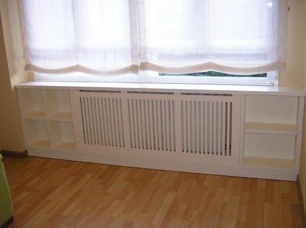 Mueble de radiador