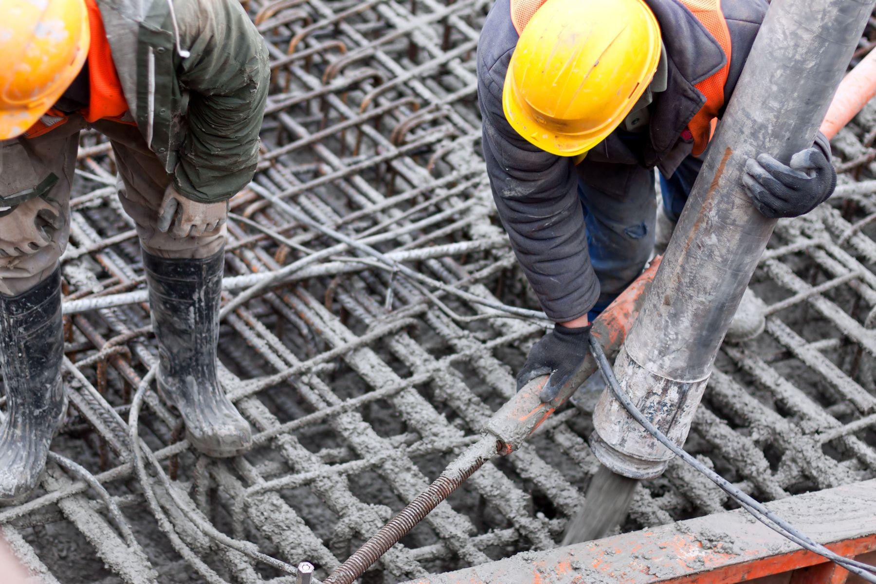 Fabricación de hormigón y alquiler de maquinaria