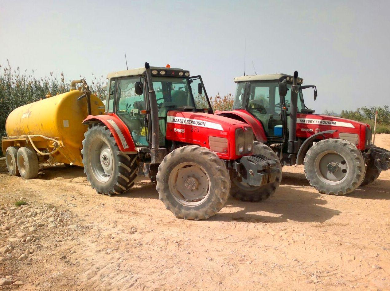 Tractores cubas