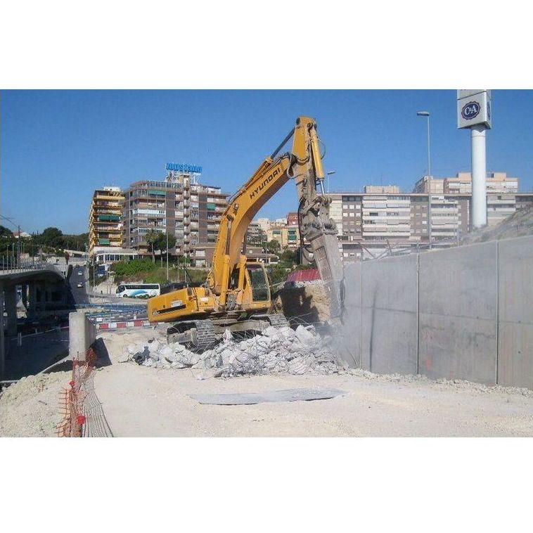 Excavaciones y derribos: Servicios de Canastell Urbana
