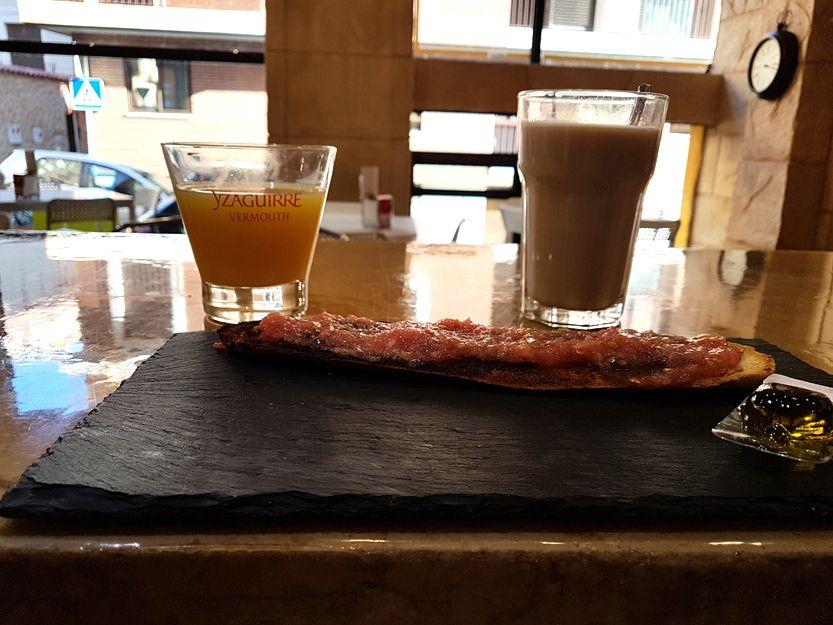 Bar de desayunos en Segovia