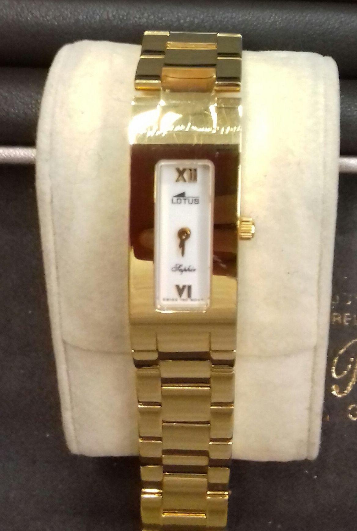 Reloj EN ORO MACIZO 18 KILATES!!LOTUS ORO!!